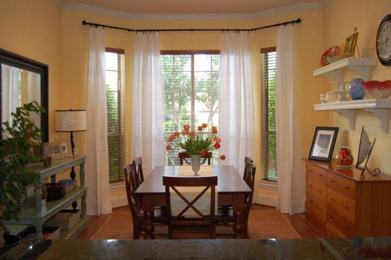 дома одноэтажные с эркером фото