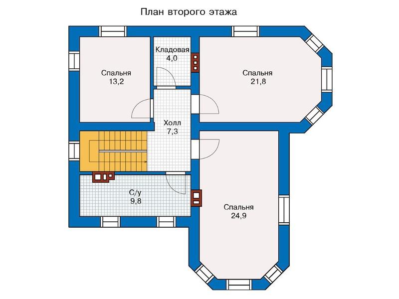 дом с эркерами двумя