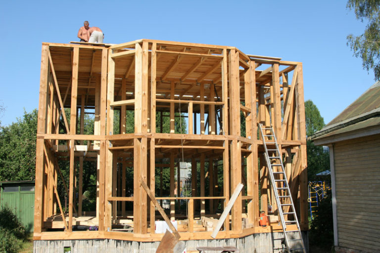 Как сделать дом из каркаса