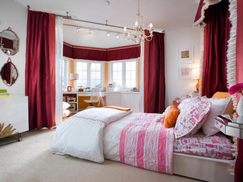 дизайн спальня фото с эркером