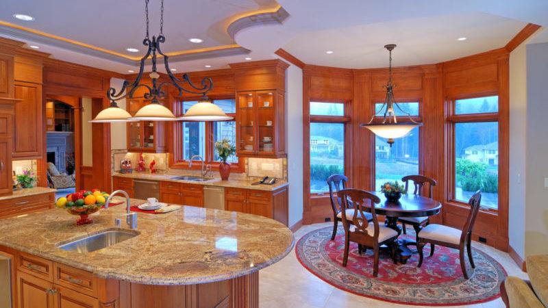 шторы для эркера на кухню фото п44т