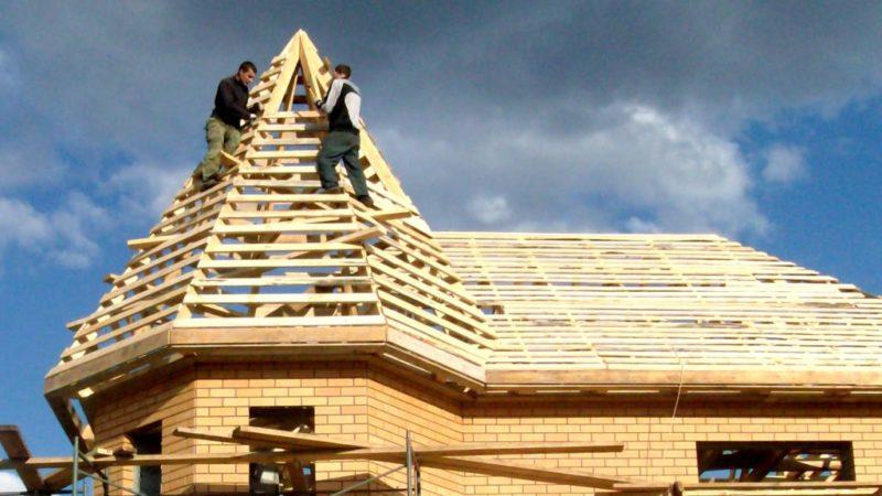 крыша на эркере