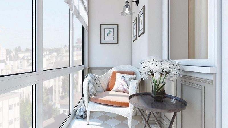 Стоит ли делать панорамный балкон: плюсы и минусы, особенности и уютный дизайн
