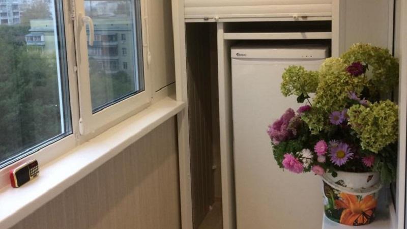Можно ли поставить холодильник на балконе: особенности размещения в разных условиях