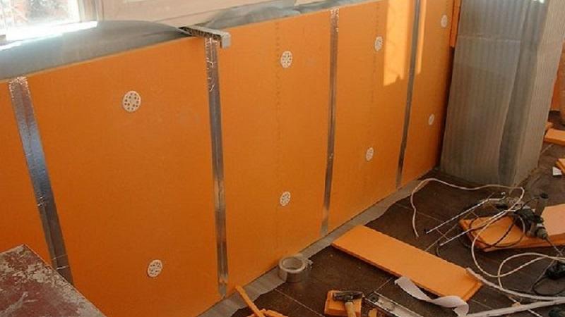Пеноплекс на балкон: как утеплить помещение самостоятельно
